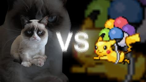 Grumpy Cat VS Pokémon   YouTube