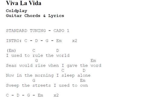 Guitar : guitar tabs viva la vida Guitar Tabs Viva and ...