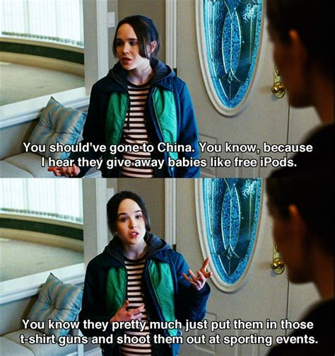 Ha ha ha!! Love this line about China :D Juno  2007  Movie ...