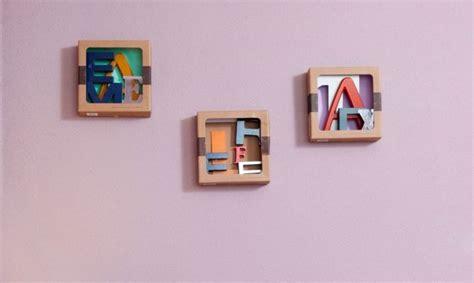 Hacer cuadros con letras   Decogarden