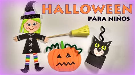 Halloween: manualidades para niños muy fáciles