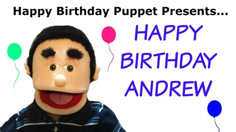 Happy Birthday Andrew   Funny Birthday Song   YouTube
