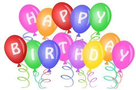 Happy Birthday Balloons Clip Art   Cliparts.co
