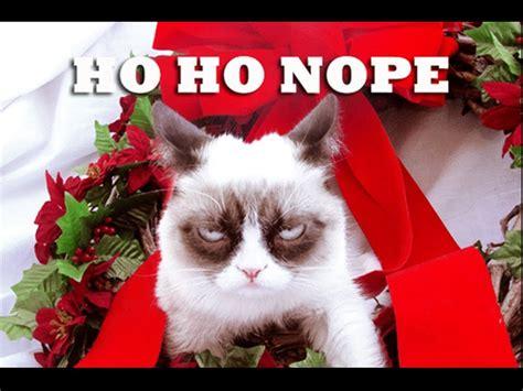 Happy Holidays from Grumpy Cat   YouTube