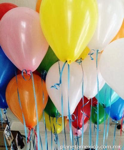 Helio y globos inflado servicio a domicilio en Coyoacan