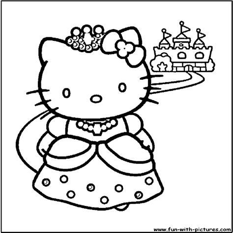 Hermosa Dibujos Colorear Hello Kitty Para Imprimir
