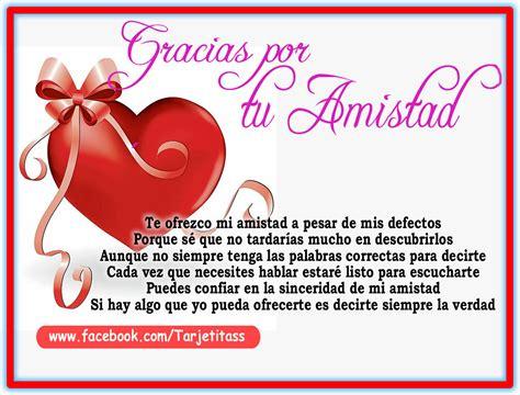 Hermosas Tarjetas de Amistad con Lindas Frases Para ...
