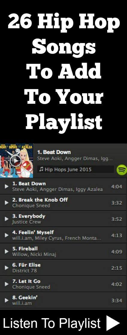 Hip Hop Playlist   Bing images