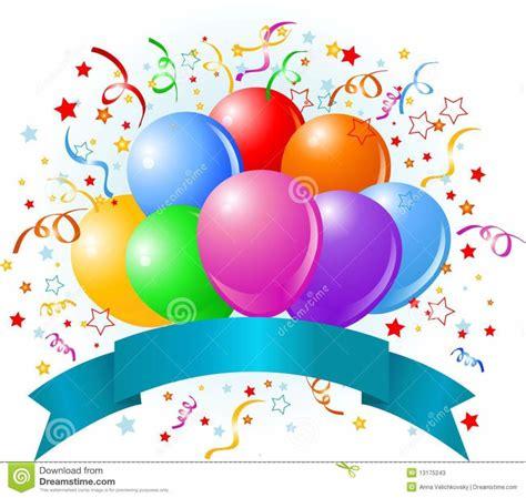 Home Design: Birthday Balloons Design Royalty Free Stock ...