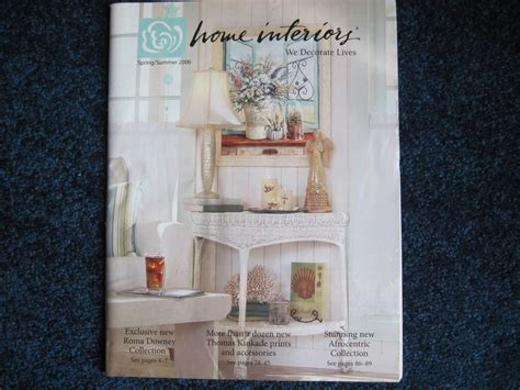 Home Interiors & Gifts Spring/Summer 2006 Catalog Brochure ...
