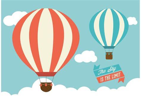 Hot Air Balloons Vector Graphic   Download Free Vector Art ...