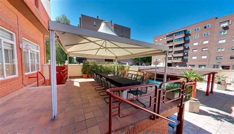Hotel con terraza y parking Madrid | Silken Torre Garden