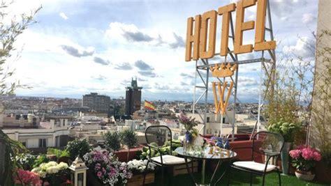 Hotel Wellington: una azotea en exclusiva para cenas ...