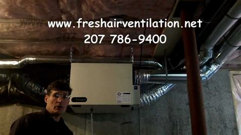 How to Clean a Fantech 1504 HRV air exchanger - YouTube