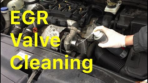 How To Clean an EGR Valve Without Removing It - YouTube