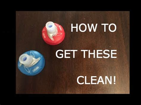 HOW TO Clean Camelbak Podium Water Bottle 2016   YouTube