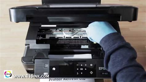 How to clean clogged or blocked Epson print head nozzle ...