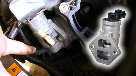 How to: Clean & replace Idle Air Control Valve Ford ...