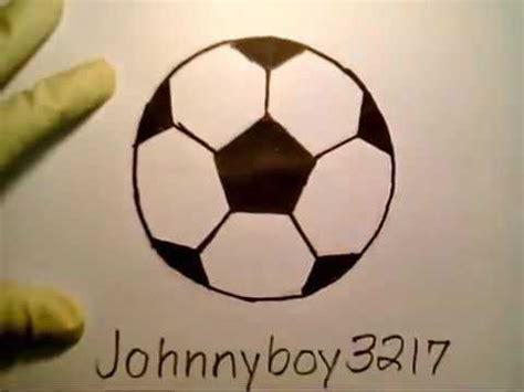How To Draw A Soccer Ball como dibujar una pelota de ...