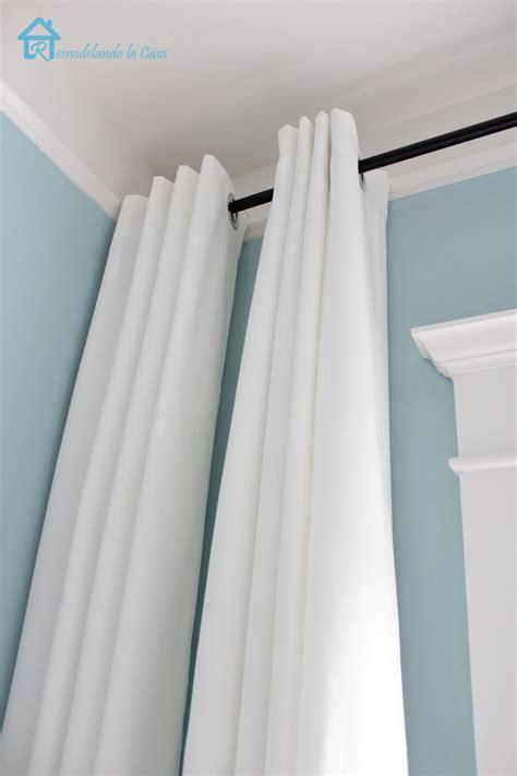 How to Make your Curtains Longer   Remodelando la Casa
