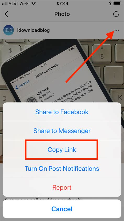 How to repost Instagram photos and videos on iPhone