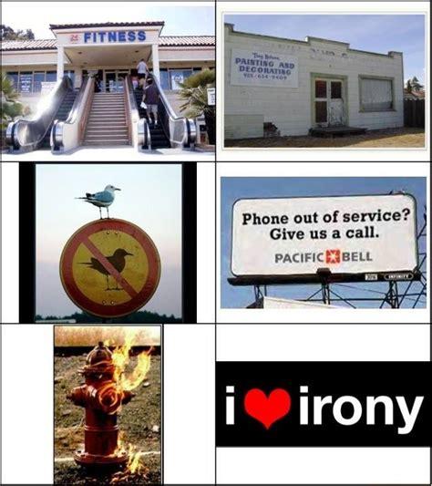 I love Irony