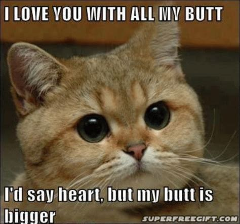 I love you with all my butt | Funny Shit | Pinterest ...