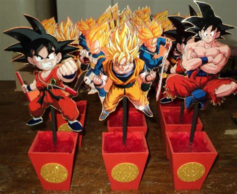 Idea Decoración de cumpleaños infantiles | Dragon Ball Z ...