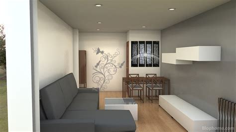 Idea para salón alargado y estrecho | salón | Pinterest ...