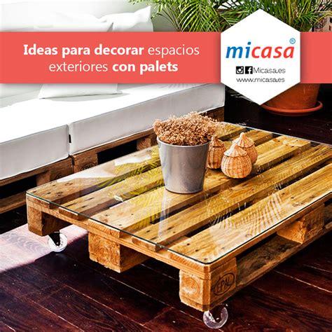 Ideas creativas para decorar con palets   Micasa.es