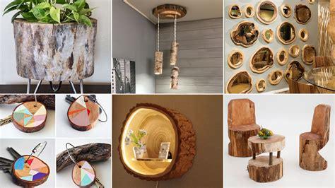 Ideas de bricolaje con troncos de madera   Blog Hogarmania