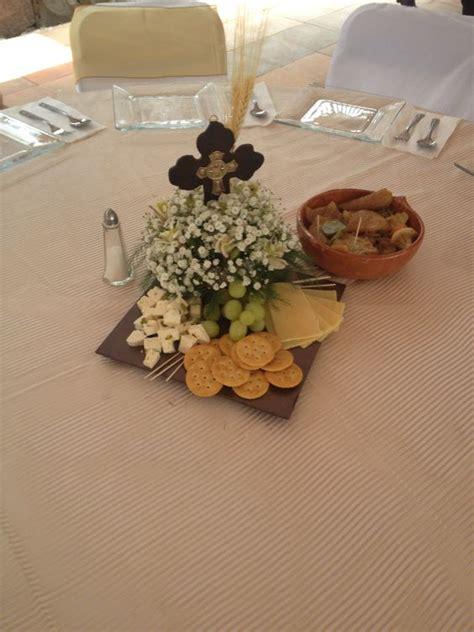 Ideas de centros de mesa para primera comunión  25 ...