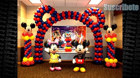 Ideas De Como Decorar Tu Fiesta Mickey Mouse   YouTube