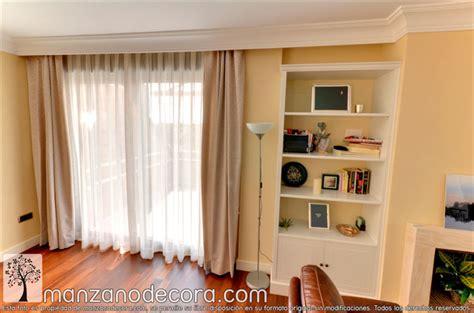 Ideas de cortinas para salón   Cortinas Manzanodecora