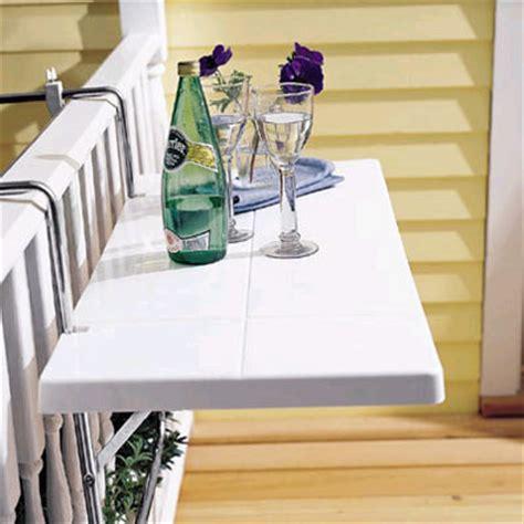 Ideas de mesas plegables para terrazas pequeñas