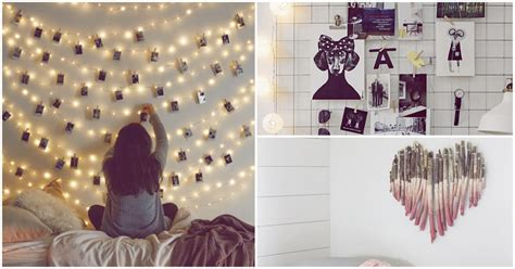 Ideas muy originales para decorar las paredes de tu cuarto ...