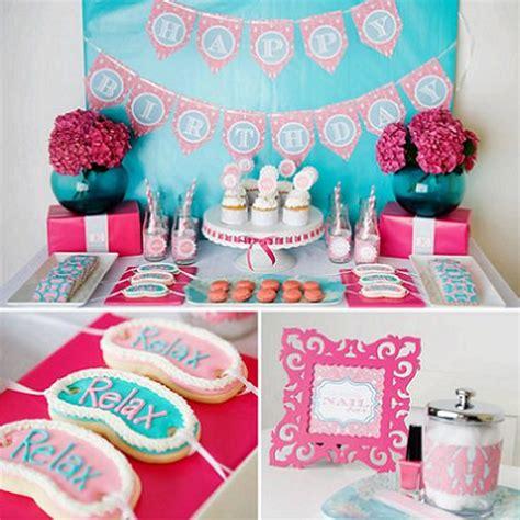 Ideas originales para una fiesta Spa para niñas