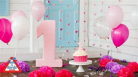 Ideas para celebrar el primer cumpleaños de tu bebé   YouTube