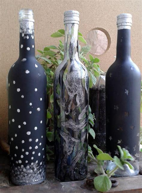 ideas para decorar botellas de vidrio animal print   YouTube