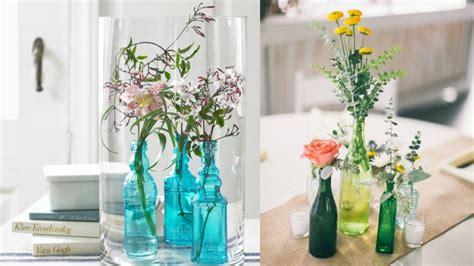 Ideas para decorar con botellas de cristal
