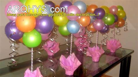 Ideas para decorar con globos   YouTube