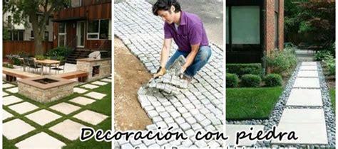 Ideas para decorar con piedras el patio de tu casa ...