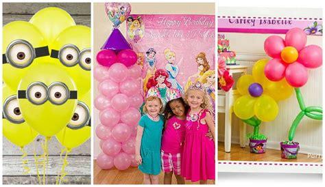 Ideas para decorar cumpleaños con globos | Manualidades