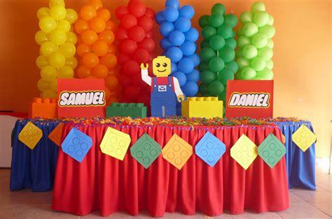 Ideas para decorar cumpleaños infantiles tematica LEGO 3 ...