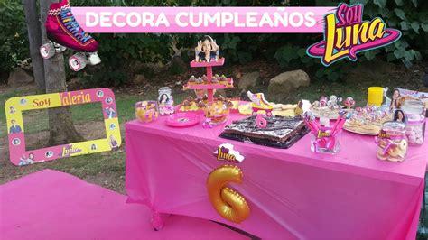 Ideas para DECORAR Cumpleaños SOY LUNA de DISNEY Paso a ...