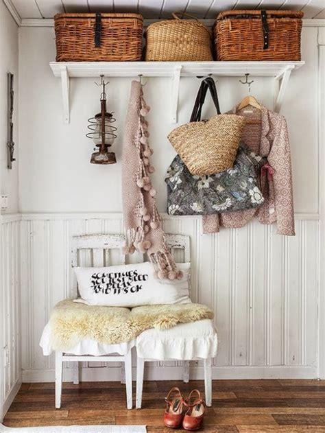 Ideas para decorar el recibidor en estilo shabby chic