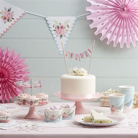 Ideas para decorar fiestas en primavera