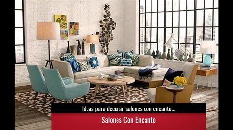 Ideas para decorar salones con encanto | Colores y estilos ...