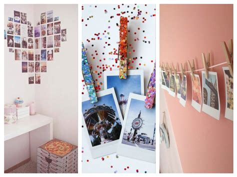 Ideas para decorar tu cuarto con fotos