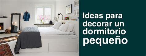 Ideas para decorar un dormitorio pequeño   Urbicasa ...